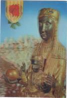 POSTAL   NUESTRA SEÑORA DE MONTSERRAT - Virgen Maria Y Las Madonnas