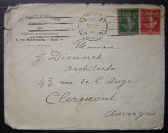 La Veillée D'Auvergne Revue Mensuelle 1918 - Marcophilie (Lettres)