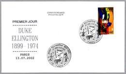 DUKE ELLINGTON (1899-1974). SPD/FDC Paris 2002 - Cantantes