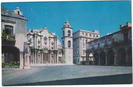 Havana - Cathedral Square - La Habana  - Plaza De La Catedral - (Cuba) - Cuba