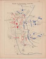 Guerre 1870-71 : 11 Bataille De Froeschwiller 6 Août - Documents Historiques