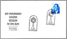 300 Años Llegada RELIQUIA DE SAN BLAS. Bocairent 2004 - Cristianismo