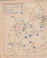 Guerre 1870-71 : 13 Marche Des 1è Et 2ème Armées Allemandes Du 7 Au 13 Août - Documents Historiques
