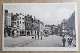 METZ - Place Saint Louis  - Animé Tramway ( 57 Moselle ) - Metz