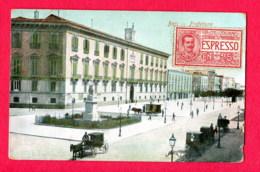 CPA (Réf : X260) BARI (ITALIE) Prefeitura (animée, Calèches) - Bari