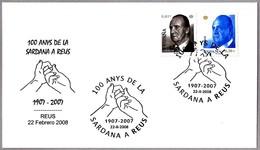 10 Años De A SARDANA En Reus - 100 Years Of SARDANA In Reus. Manos - Hands. Reus 2008 - Baile