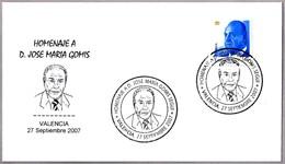 Homenaje A JOSE MARIA GOMIS. Valencia 2007 - Celebridades
