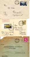 7Briefe / Ganzsachen Aud Der Zeitspanne 1872-1938 - Briefe U. Dokumente
