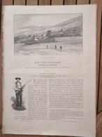 1894 PYRÉNÉES CANTABRIQUES - AUX PICS D'EUROPE - POSTE - MASSIF DE COVADONGA - Journaux - Quotidiens
