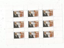 Bloc De 9 Vignettes Politiques , Avec Jean Marie LE PEN ,  FN , Frais Fr 1.55 E - Erinnofilie