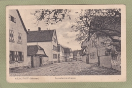 CRUMSTADT  HESSEN  GERNSHEIMERSTRASSE - Allemagne