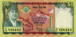 Nepal 50 Rupee (P52) 2005 -UNC- - Népal