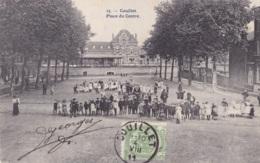 Couillet Place Du Centre Circulée En 1911 - Belgique