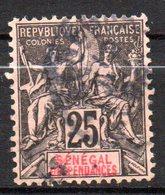 Col 14 /  Sénégal  N° 15 Oblitéré Cote  8,10 € - Gebruikt