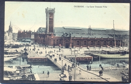 OSTENDE - La Gare Ostende-Ville (Feldpost N° 12) - Oostende