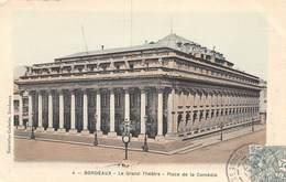 PIE.LOT CH -19-3988 : BORDEAUX LE GRAND THEATRE. - Bordeaux