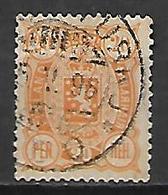 FINLANDE   -    1889  .  Y&T N° 31 Oblitéré. - 1856-1917 Russian Government