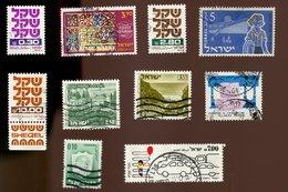 Israel - Lot N° 1 De 10 Timbres - Collections, Lots & Séries