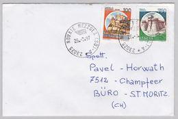 Brief In Die Schweiz (br5836) - 6. 1946-.. Republik