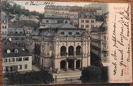 CPA ,  Karlsbad Theater ( Karlovy Vary, Carlsbad) écrite En 1905 (timbre Enlevé) - Tchéquie