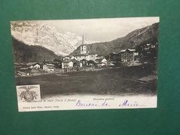 Cartolina Valtonanche M. 1524 - Valle D'Aosta - Panorama - 1904 - Non Classificati