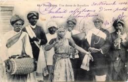 Inde - Pondichéry - Une Danse De Bayadère - India