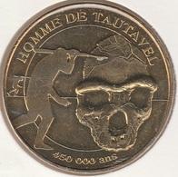 MONNAIE DE PARIS 66 TAUTAVEL Musée De Tautavel - Homme De Tautavel 450 000 Ans - 2010 - Monnaie De Paris
