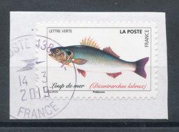 2019 (o) Poisson - Loup De Mer (sur Fragment) - France