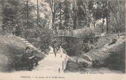 CPA   10 AUBE    TROYES     LE JARDIN DE LA VALEE SUISSE  ECRITE EN 1915    613 - Troyes