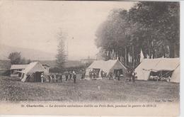 ARDENNES  - 20 - CHARLEVILLE - La Dernière Ambulance établie Au Petit Bois, Pendant La Guerre De 1870 71 - Charleville