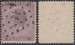 """Belgique - COB 21 Oblitération LP """"44"""" Bloemendaele (DD) DC3151 - 1865-1866 Profile Left"""