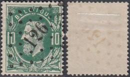 """Belgique - COB 30 Oblitération LP """"126"""" Flemalle (DD) DC3170 - 1869-1883 Léopold II"""