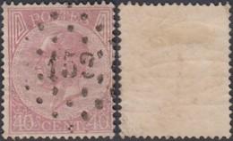 """Belgique - COB 20 Oblitération LP """"152"""" Gosselies  (DD) DC3185 - 1865-1866 Profile Left"""