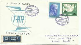PORTUGAL, SOBRE  CONMEMORATIVO LISBOA/LUANDA - 1910-... República