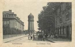 HAGUENEAU - Le Chateau D'eau. - Châteaux D'eau & éoliennes