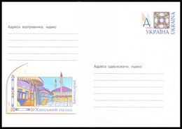 UKRAINE 2001. (1-3201). KHAN'S PALACE, BAKHCHISARAY TOWN. Postal Stationery Stamped Cover (**) - Ukraine