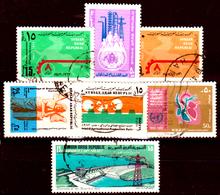Siria-00107 - Valori Del 1973 (++/o) MNH/Used - Senza Difetti Occulti. - Siria