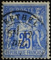 -Sage N°78 Type Ll  .O. ( CAD ) RETHEL - 1876-1898 Sage (Type II)