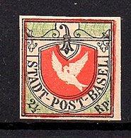 Stadt-Post-Basel Forgery (540) - 1843-1852 Kantonalmarken Und Bundesmarken