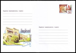 UKRAINE 2001. (1-3080). LIVADIYA PALACE, YALTA. Postal Stationery Stamped Cover (**) - Ukraine