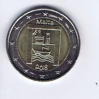 Malta - 2 Euro Commemorativo 2018 - Patrimonio Culturale - Malta