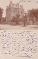 - 80 - MERS LES BAINS : Carte Photo Villa Franscechi , Envoyée De Mers ? - Mers Les Bains