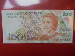 BRESIL 100 CRUZEIROS 1990 PEU CIRCULER/NEUF - Brazil