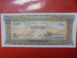 CAMBODGE 50 RIELS 1956-75 PEU CIRCULER/NEUF - Cambodia