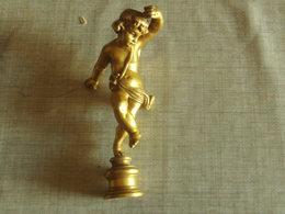 JOLIE BRONZE ANCIEN SCEAU OU AUTRE 10 CM TRES BON ETAT - Bronzes