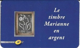 LOT De 14 Marianne En Argent - 2004-08 Marianne Of Lamouche