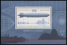 Block 69 Tag Der Briefmarke - Zeppelin 2007, Postfrisch - BRD