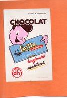 BUVARD. LILLE (NORD). CHOCOLAT LAITTA DELESPAUL  Achat Immédiat - Cocoa & Chocolat