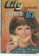 Bruguera: Lily Especial Esther 1981 Año XIX Num 15 - Poster: Nadia Comaneci - Libros, Revistas, Cómics