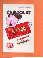 BUVARD. LILLE (NORD). CHOCOLAT CORONA DELESPAUL  Achat Immédiat - Cocoa & Chocolat